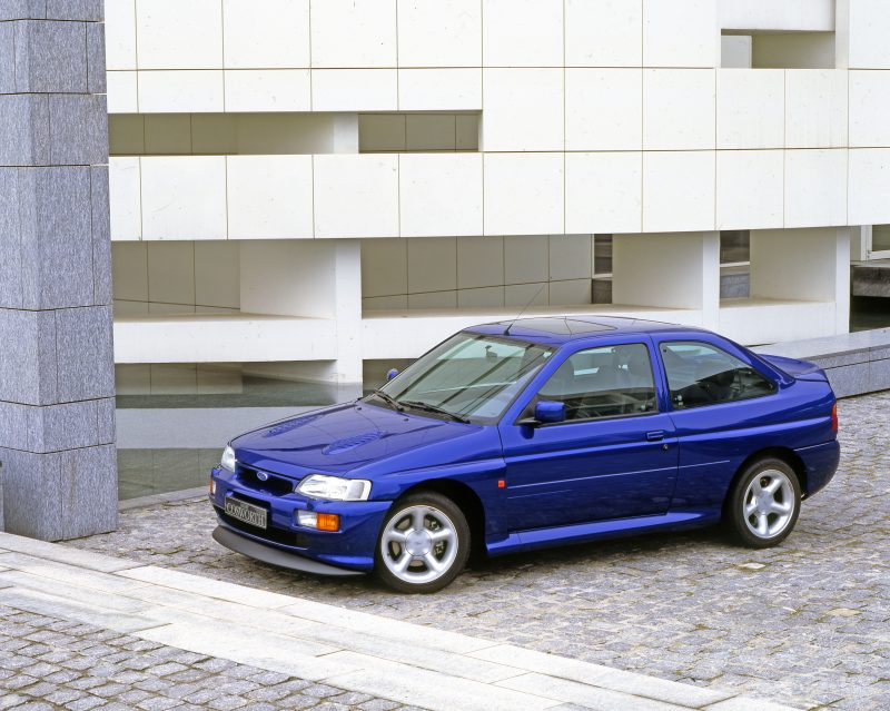 The Ford Escort Cosworth The Angriest Car In The World