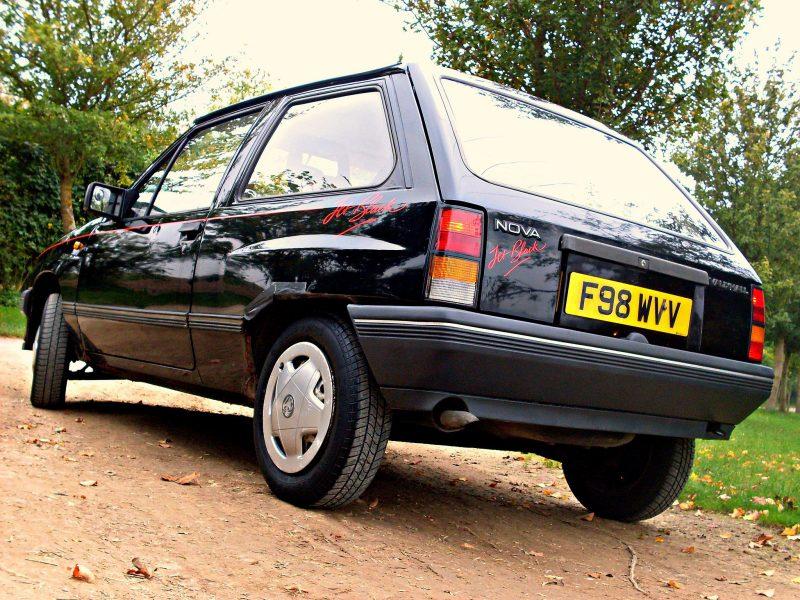 Vauxhall Nova McRaes wheels of choice Patinas Picks
